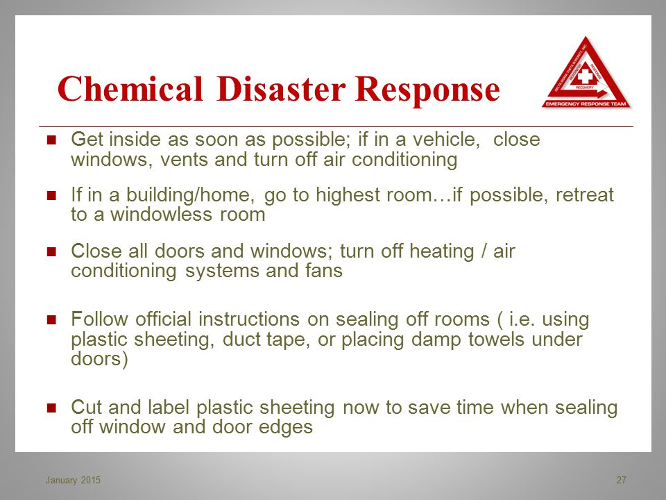 Chemical Disaster Response