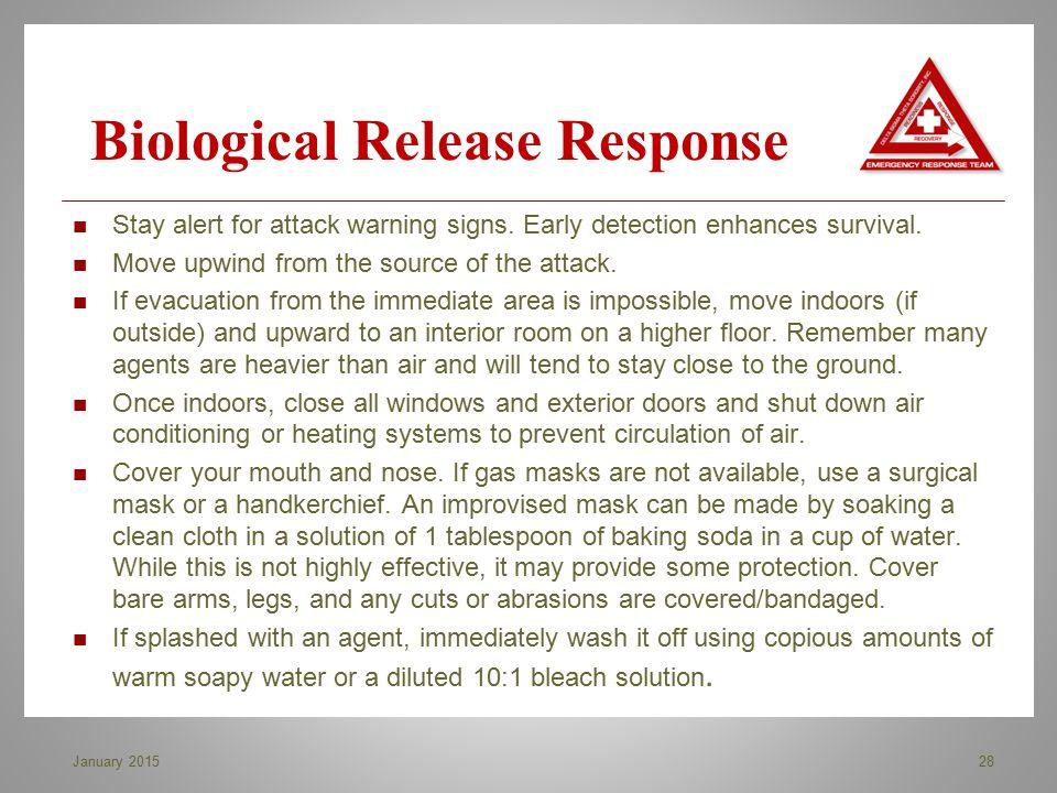 Biological Release Response