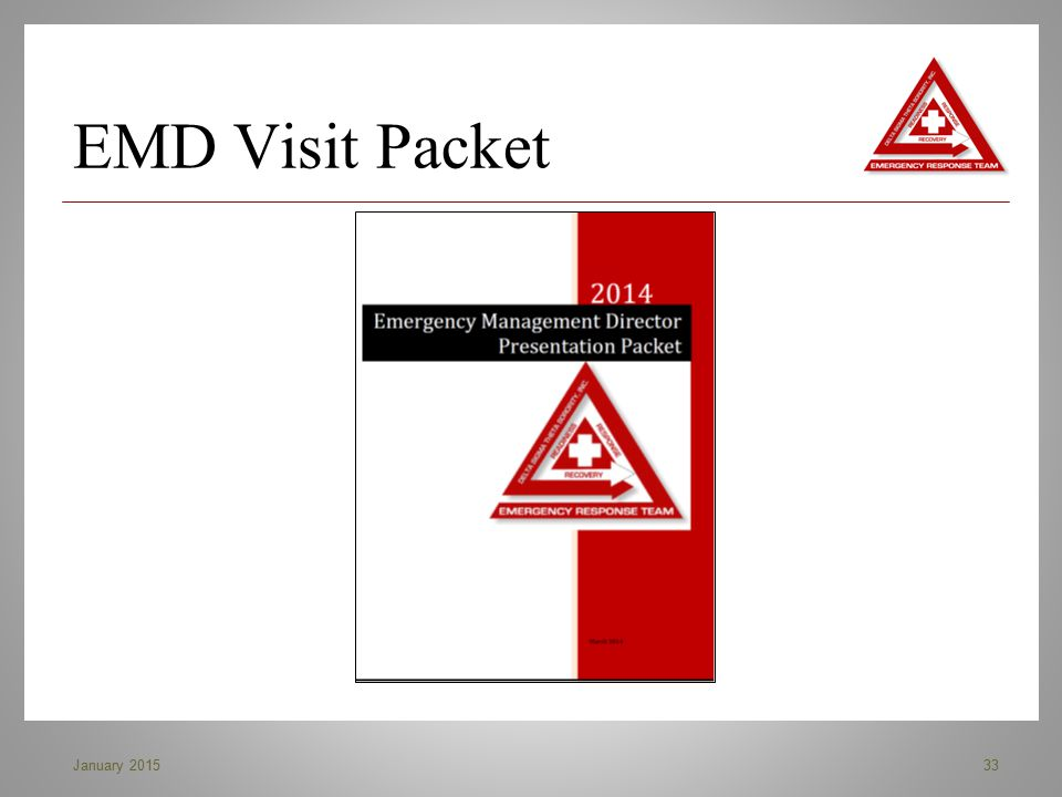 EMD Visit Packet January 2015