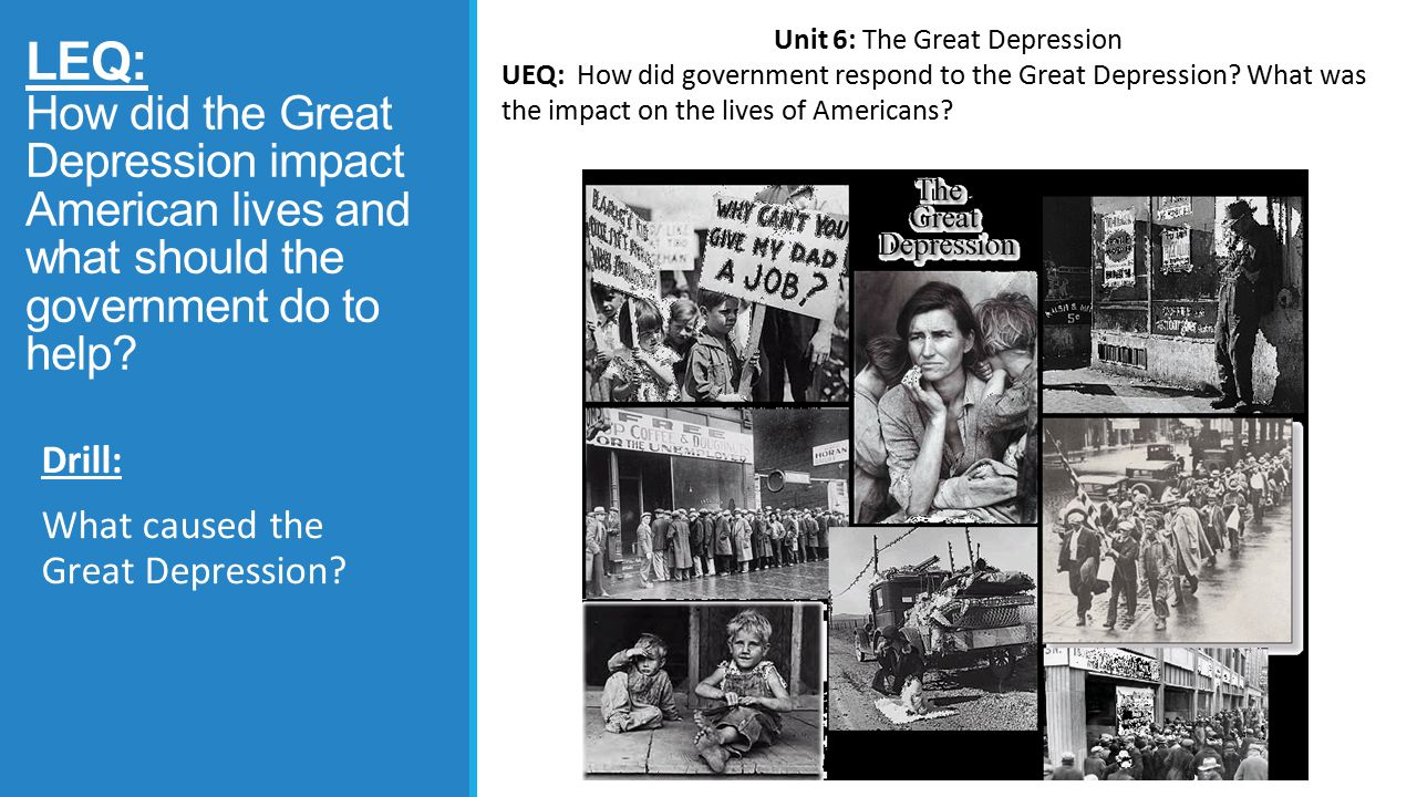 the great depression causes and how Reasons for the great depression include the stock market crash of 1929, the dust bowl storms of the midwest, uneven distribution of wealth and rapid industrial expansion.