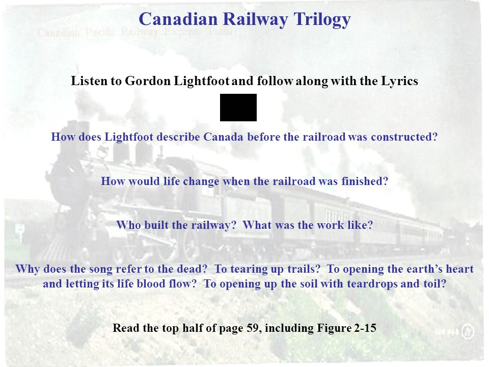 Canadian Railway Trilogy