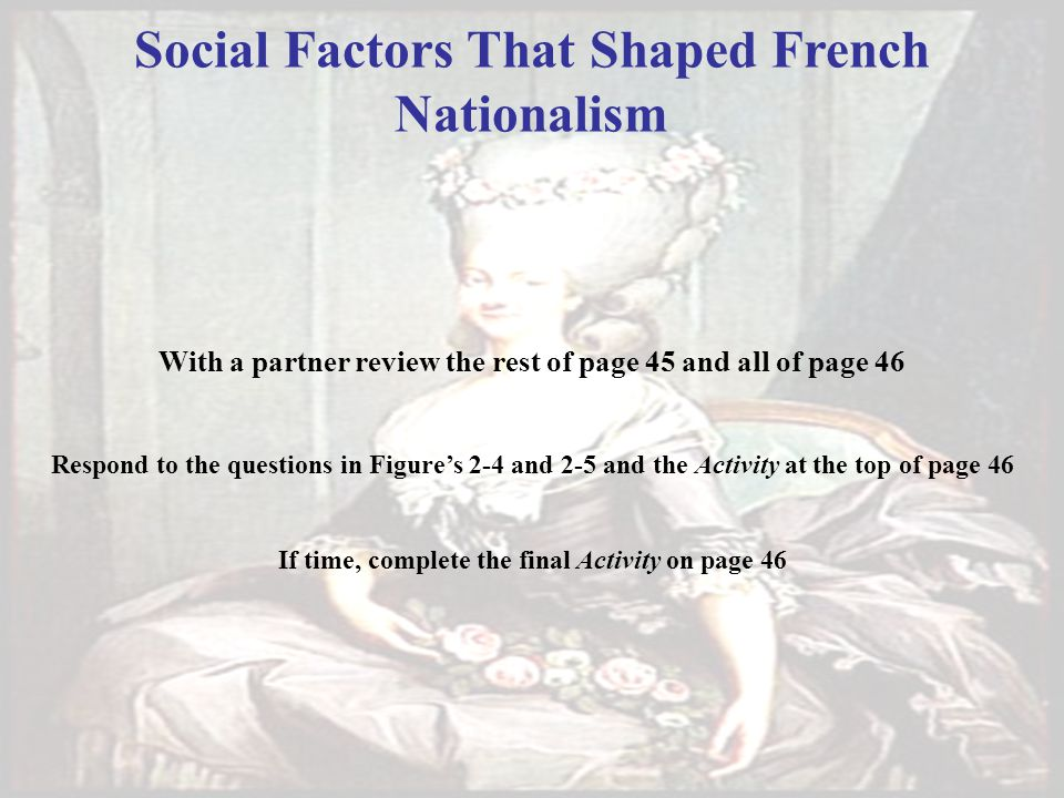 Social Factors That Shaped French Nationalism