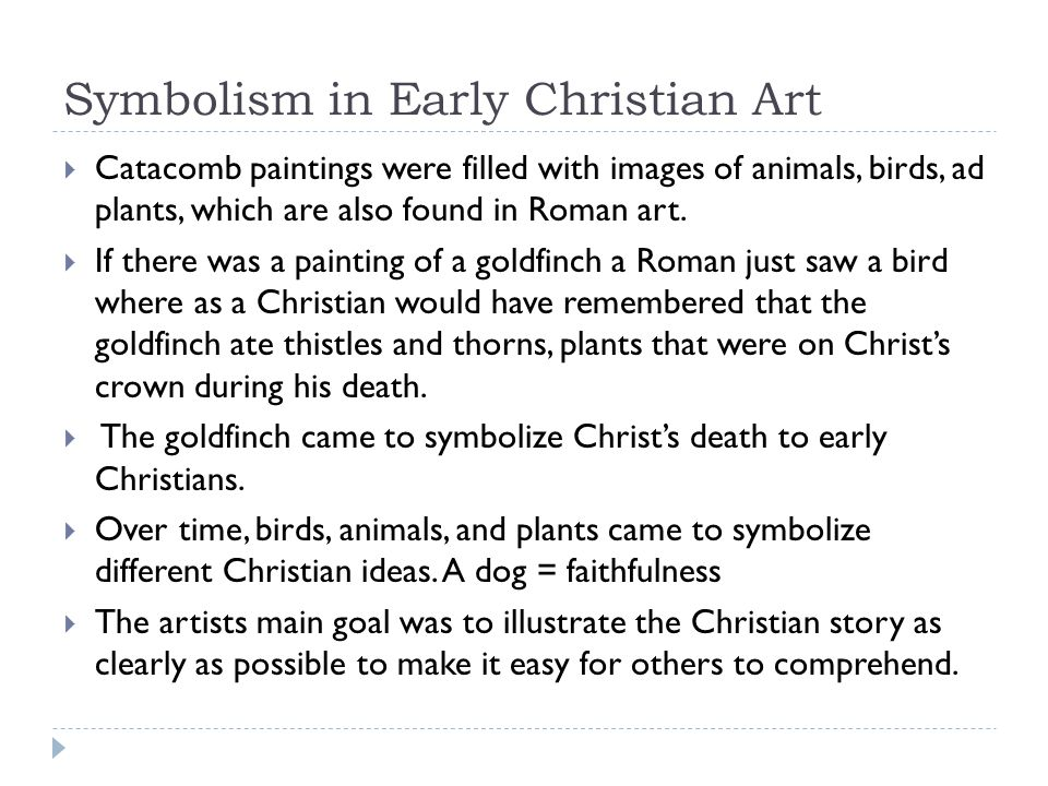 Symbolism in Early Christian Art