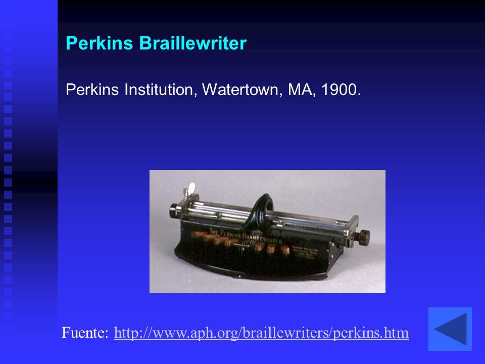 Perkins Braillewriter
