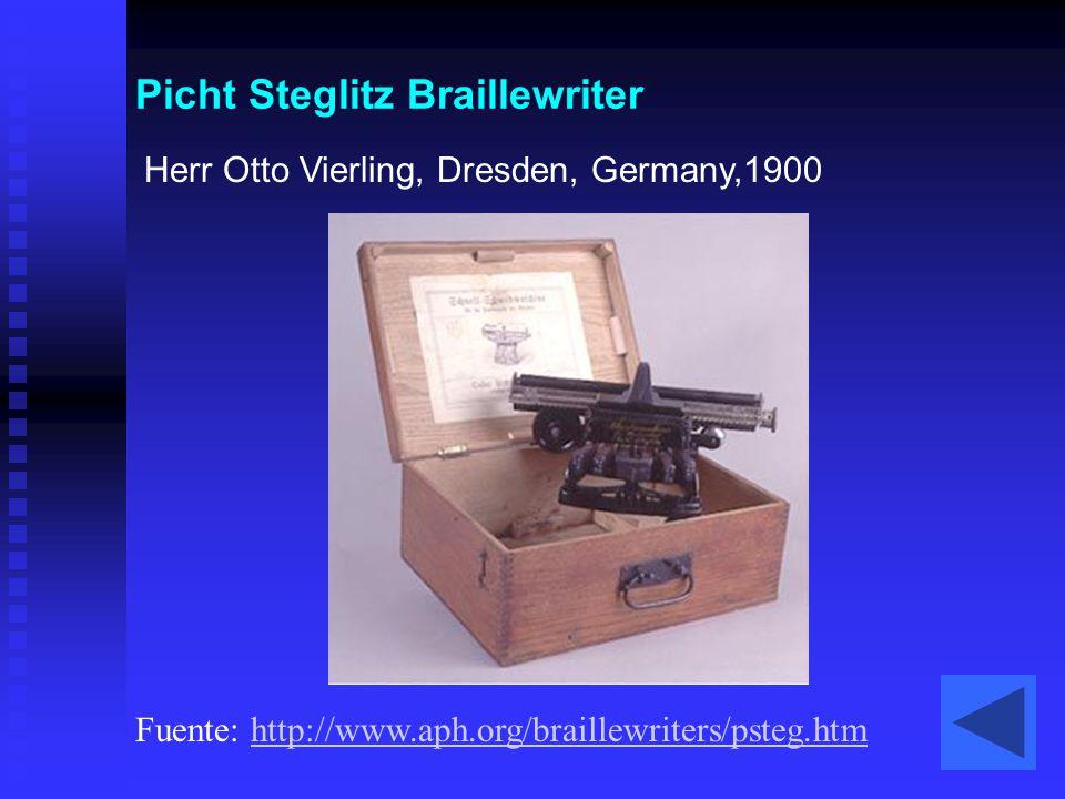 Picht Steglitz Braillewriter
