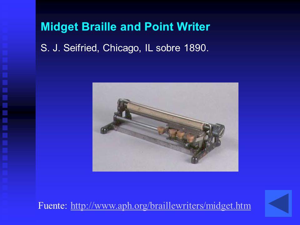 Midget Braille and Point Writer