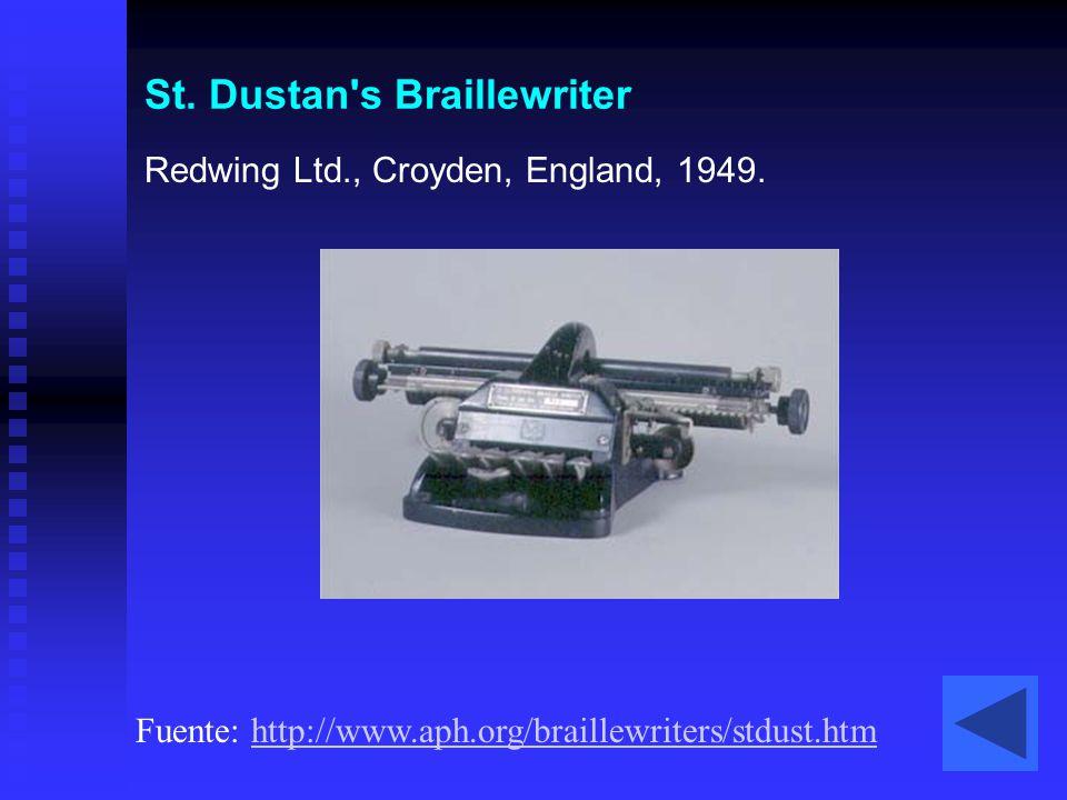 St. Dustan s Braillewriter