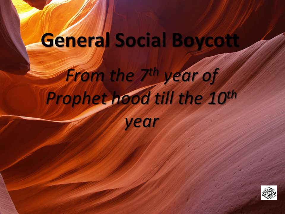 General Social Boycott