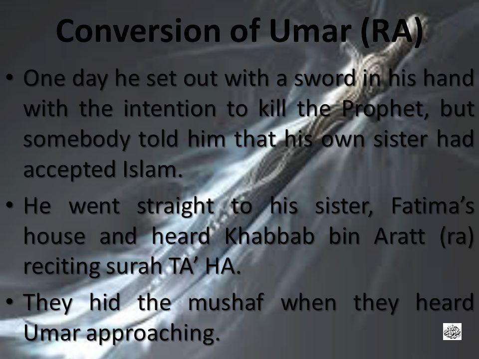 Conversion of Umar (RA)