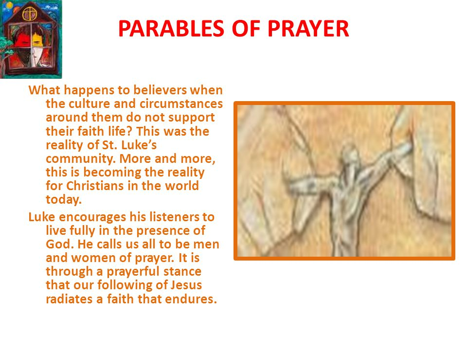 PARABLES OF PRAYER