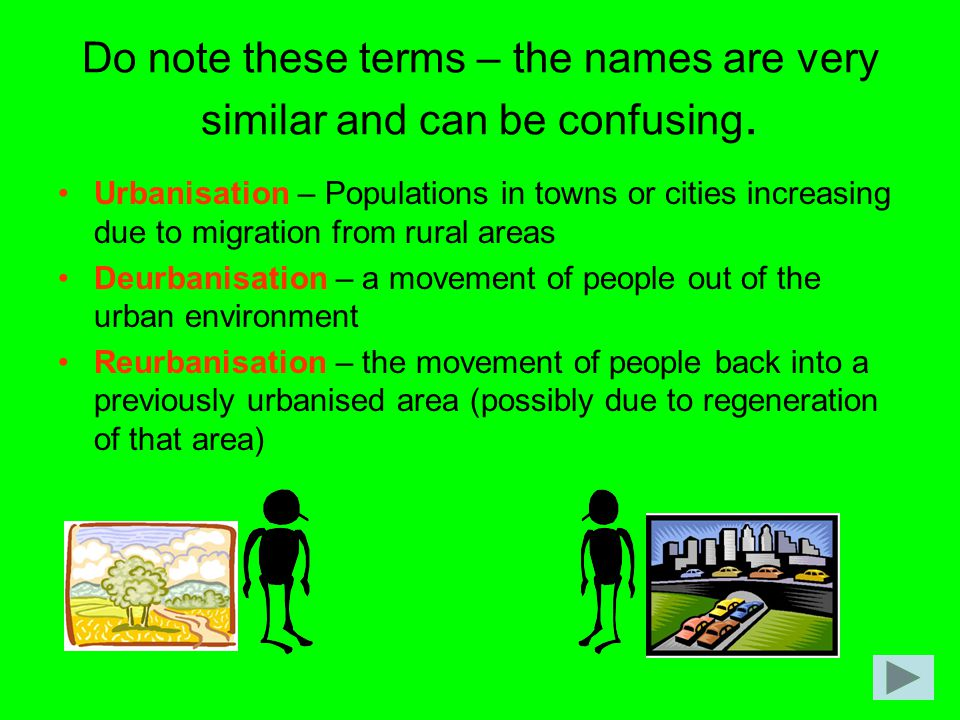 Do note these terms – the names are very similar and can be confusing.