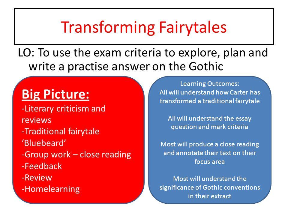 Transforming Fairytales