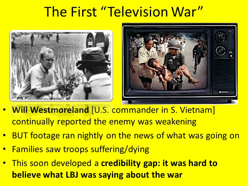 The First Television War