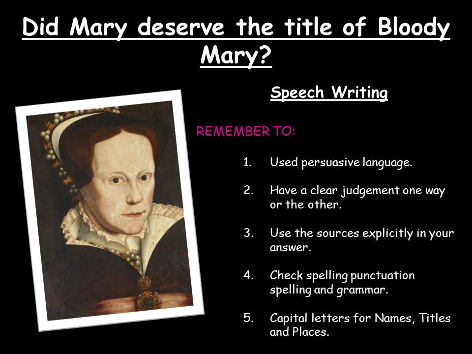 Did Mary deserve the title of Bloody Mary