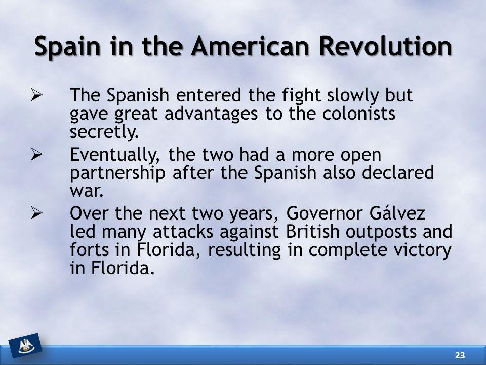 Spain in the American Revolution