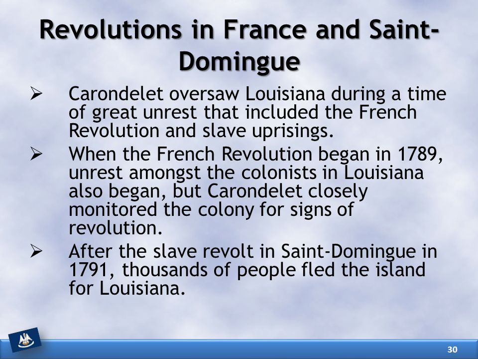 Revolutions in France and Saint-Domingue