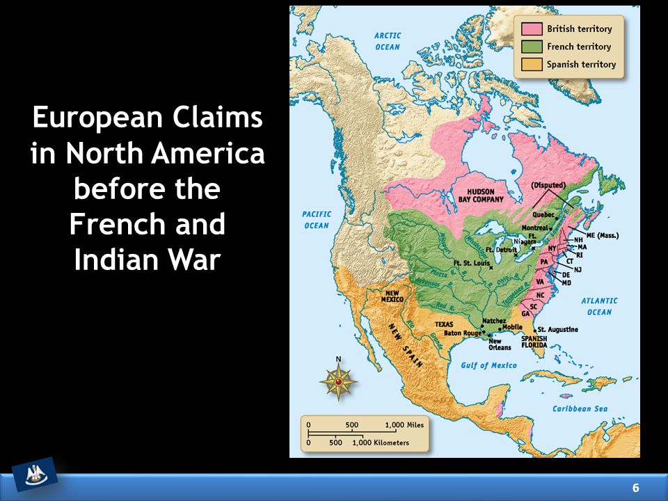 European Claims in North America before the French and Indian War
