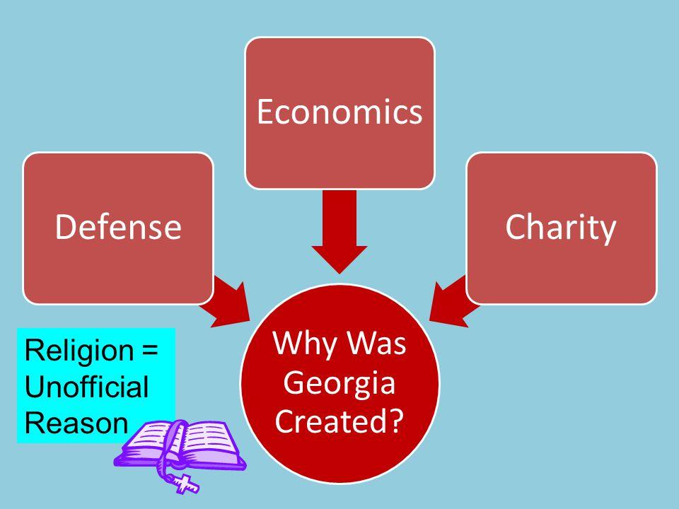 Why Was Georgia Created