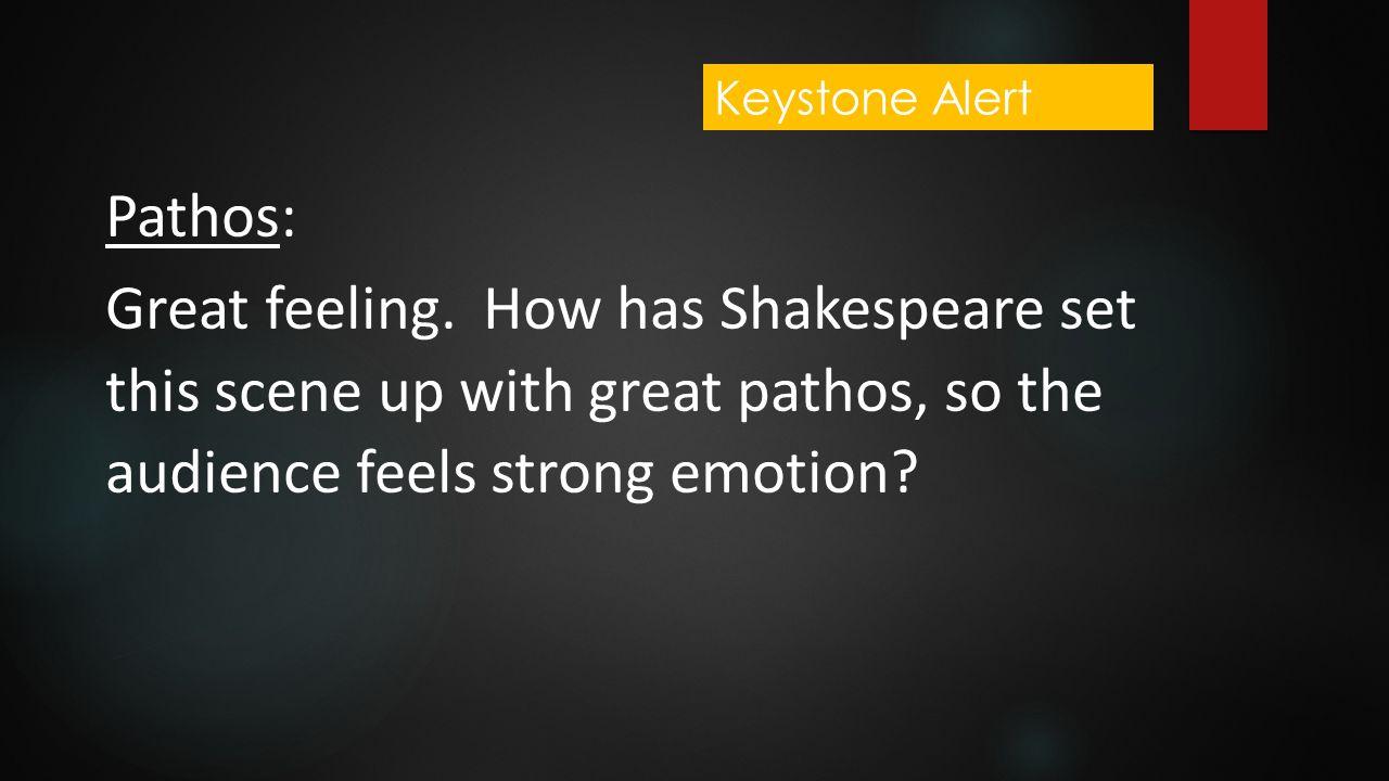 Keystone Alert Pathos: Great feeling.