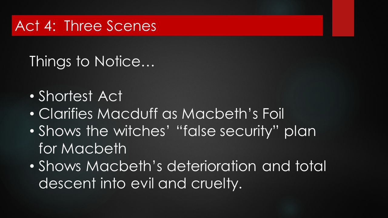 macbeths descent into evil Gender roles in shakespeares macbeth in the tragedy of macbeth, shakespeare  describes macbeths descent into evil, using murder as a tool to secure power.