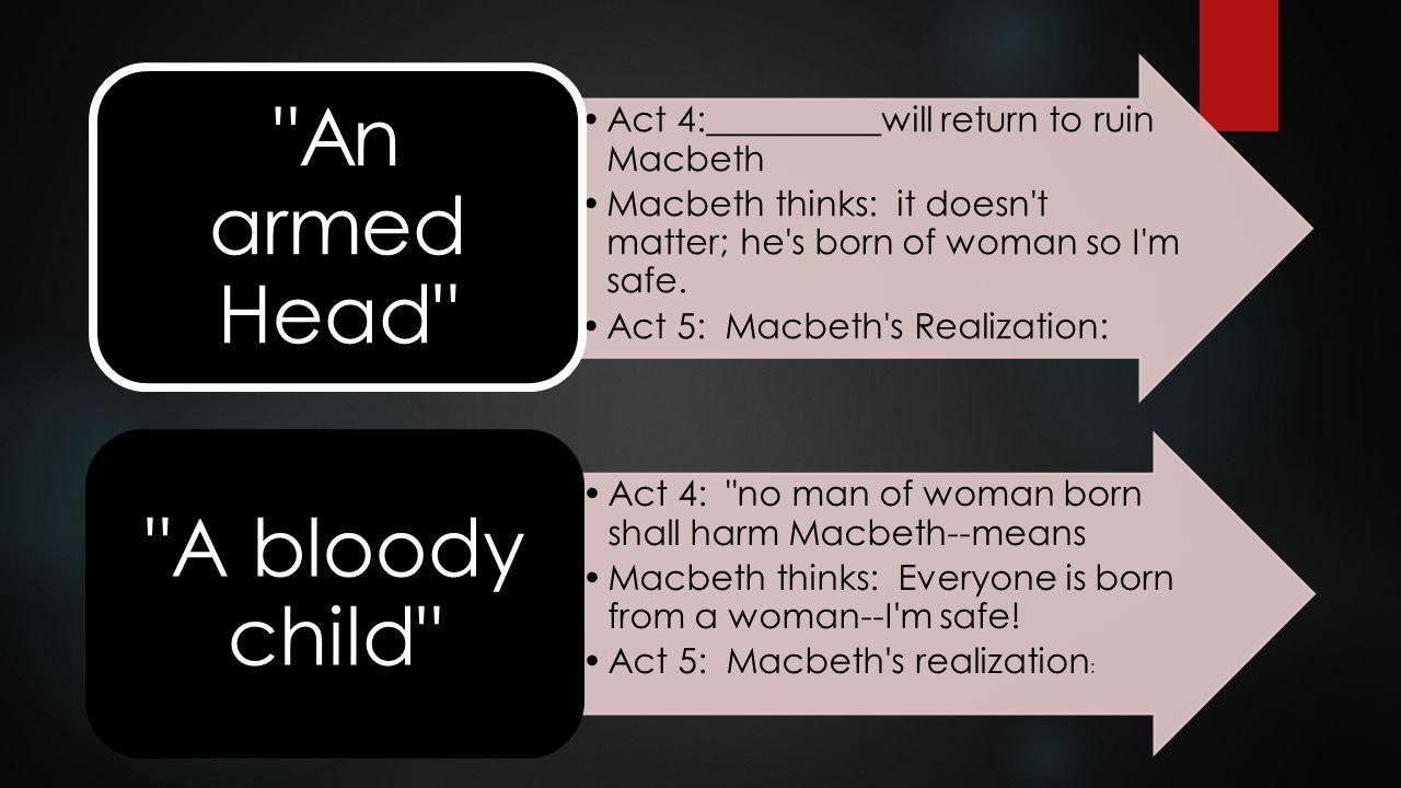 Act 4:__________will return to ruin Macbeth