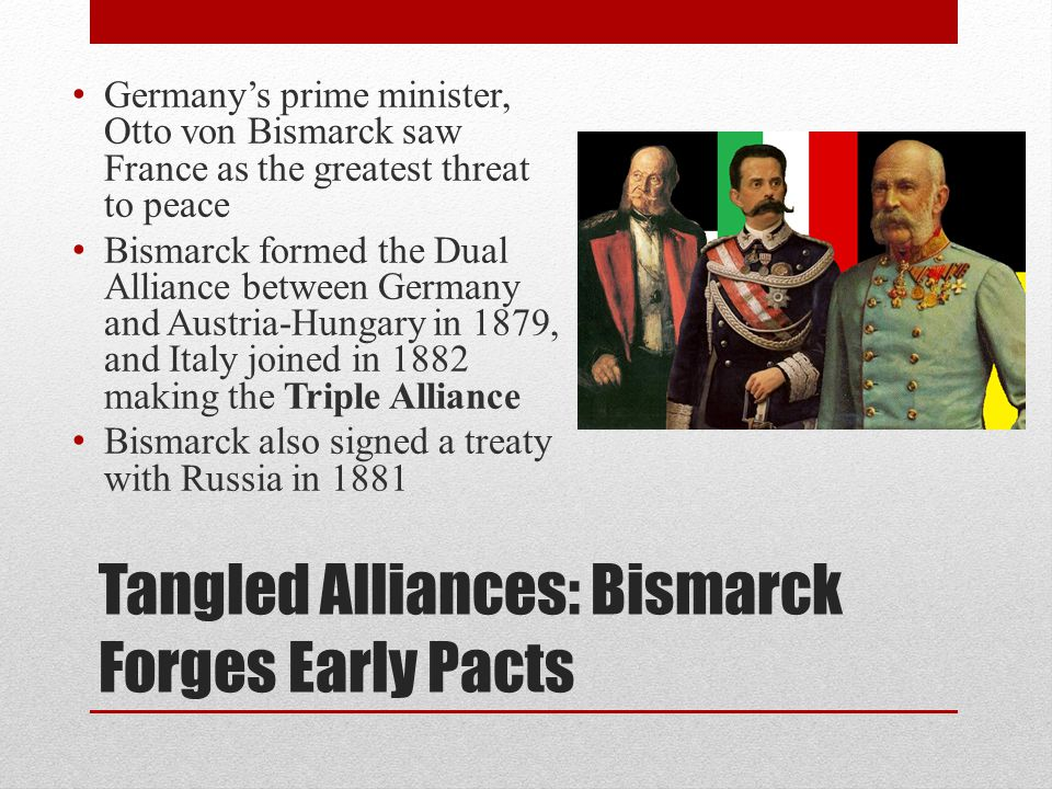 Tangled Alliances: Bismarck Forges Early Pacts