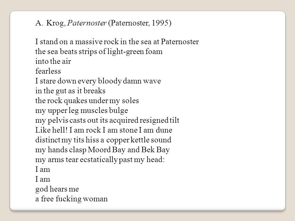 Krog, Paternoster (Paternoster, 1995)