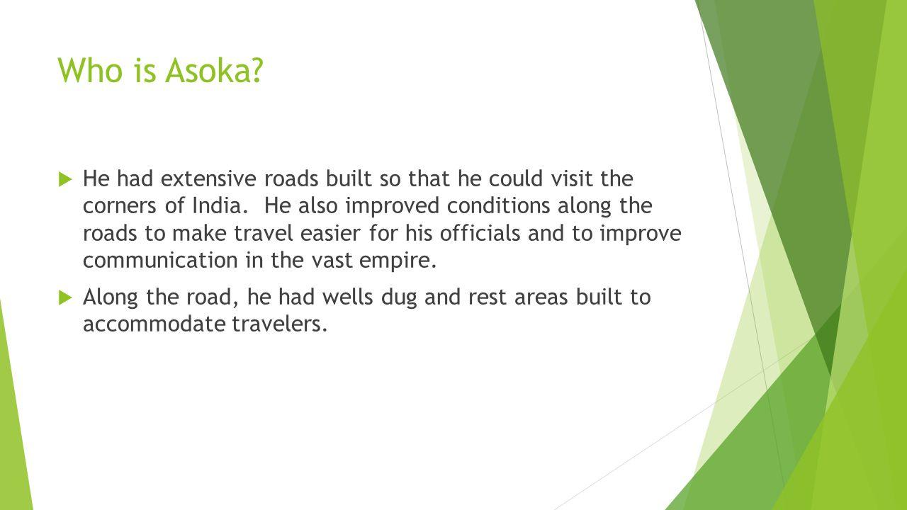 Who is Asoka