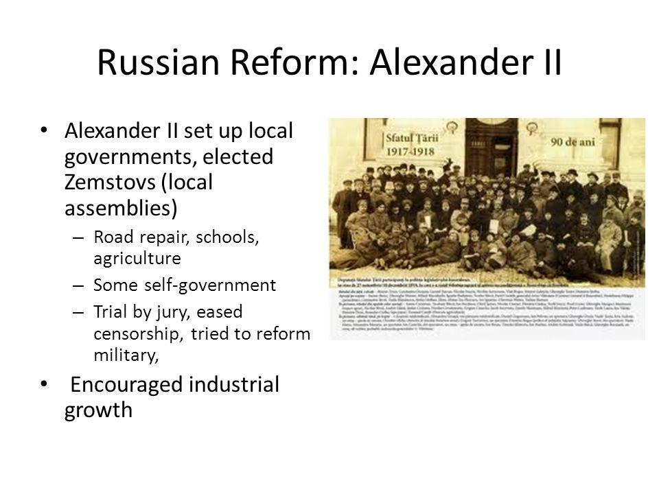 Russian Reform: Alexander II