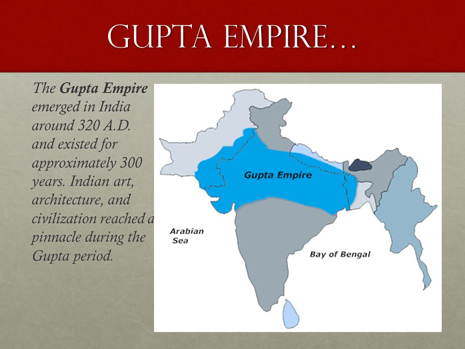 Gupta Empire…