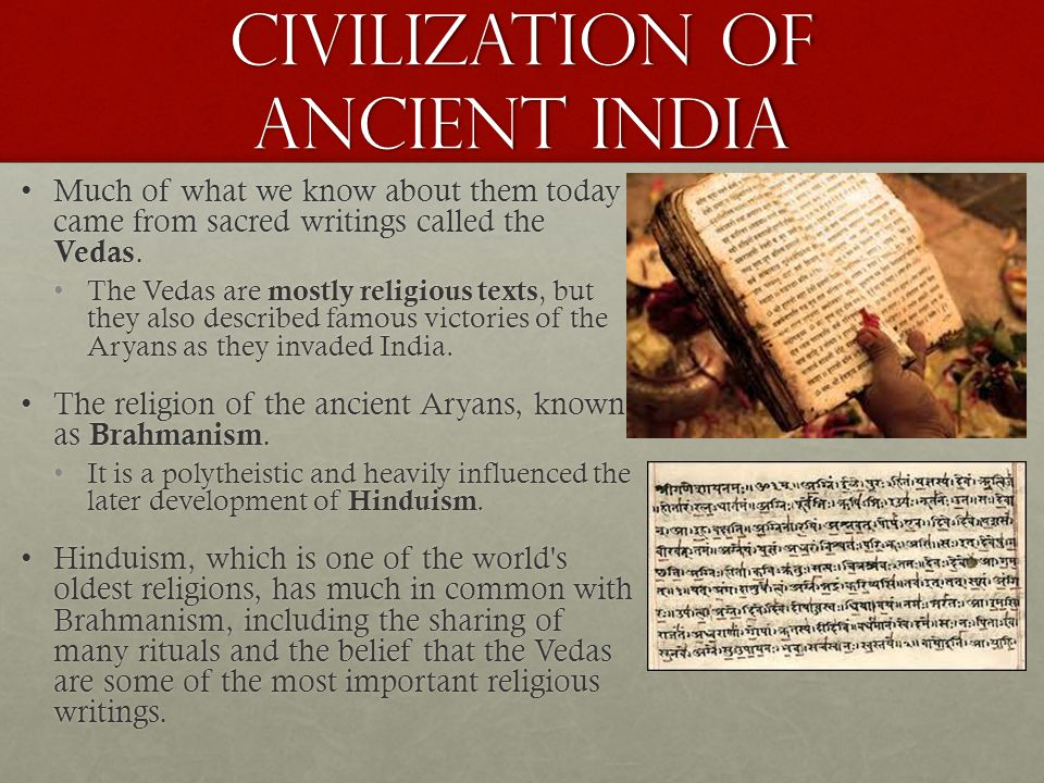 Civilization of Ancient India