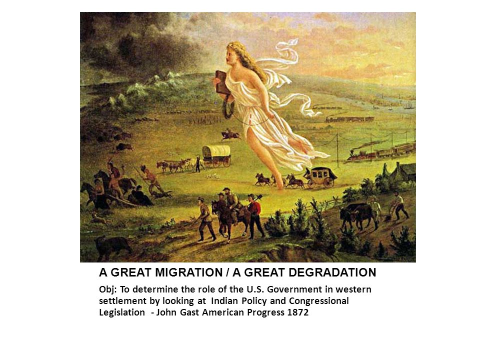 A GREAT MIGRATION / A GREAT DEGRADATION