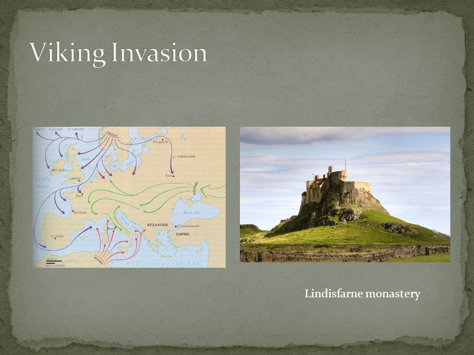 Viking Invasion Lindisfarne monastery