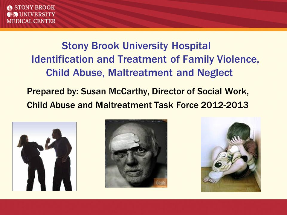 Stony Brook University Hospital Identification and Treatment of Family Violence, Child Abuse, Maltreatment and Neglect