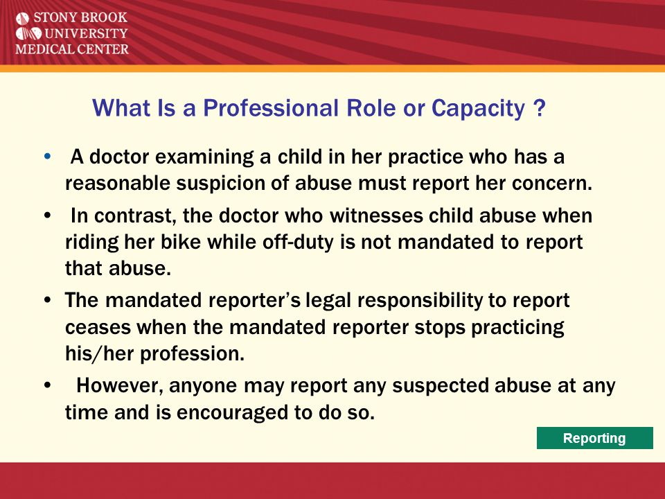 What Is a Professional Role or Capacity