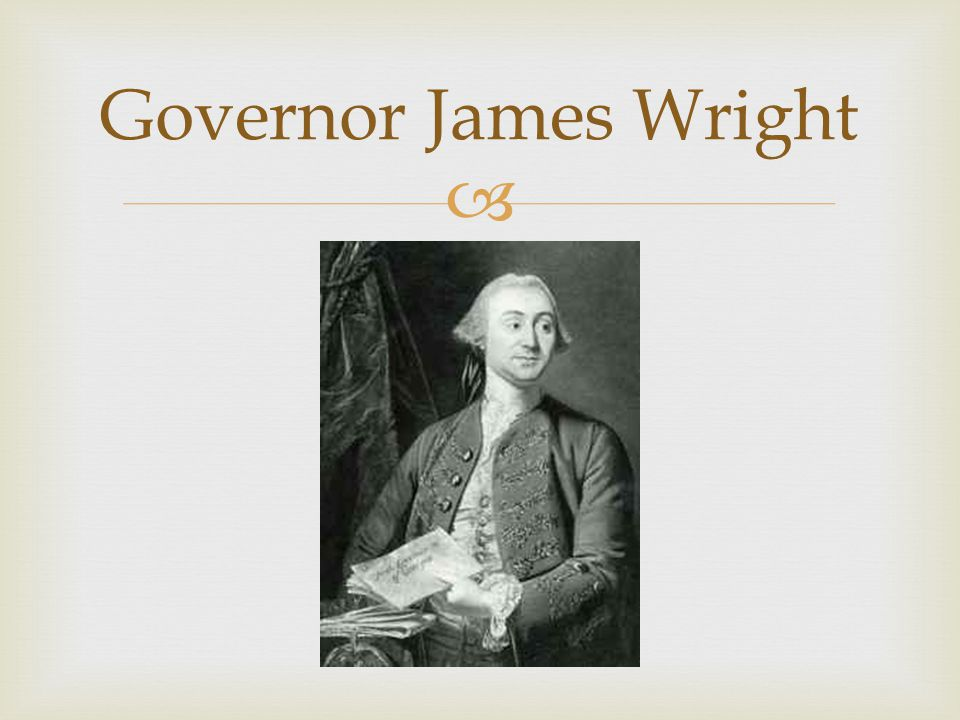 Governor James Wright