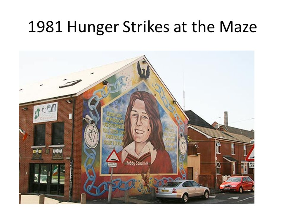 1981 Hunger Strikes at the Maze