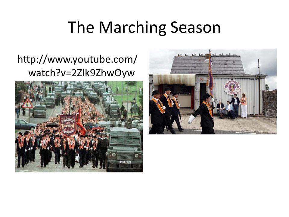 The Marching Season http://www.youtube.com/watch v=2ZIk9ZhwOyw
