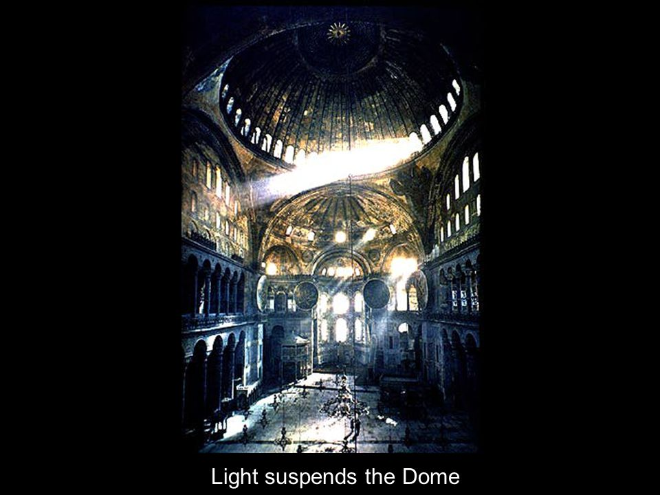 Light suspends the Dome