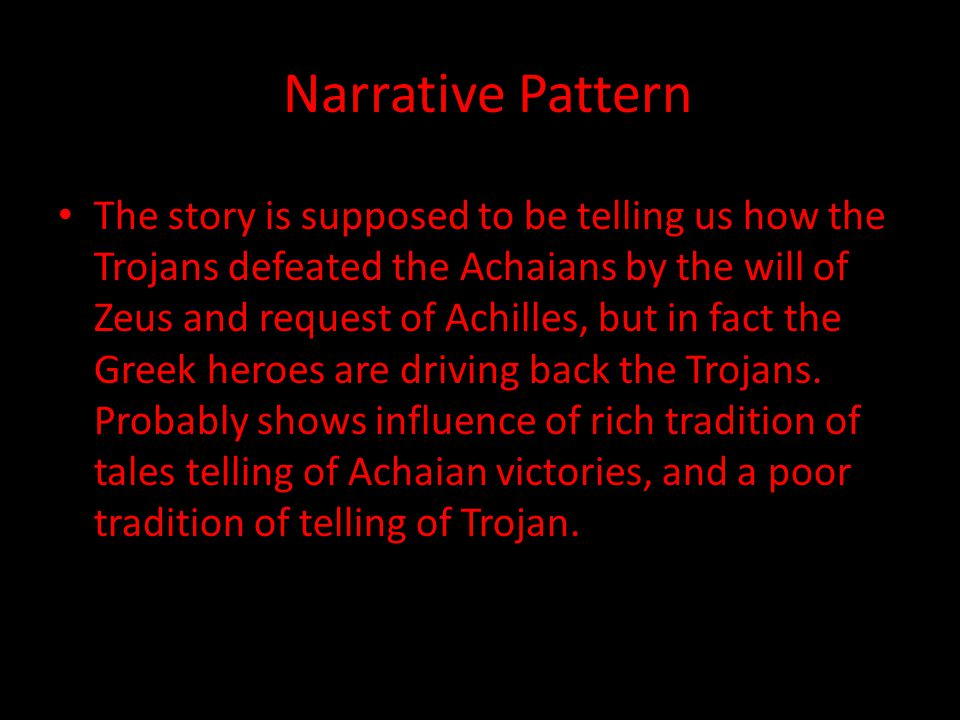 Narrative Pattern