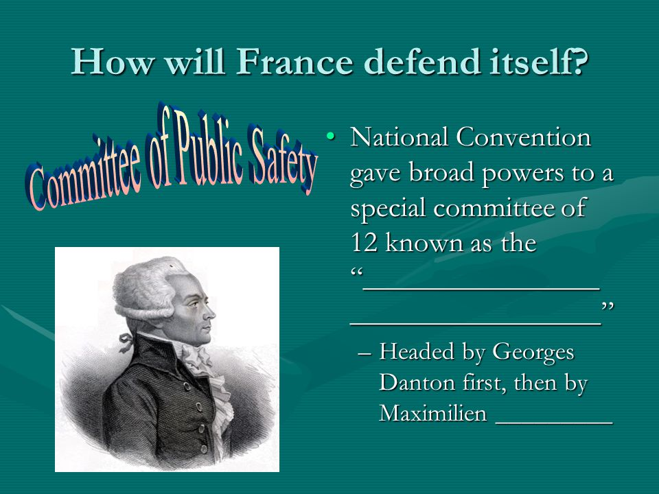 How will France defend itself