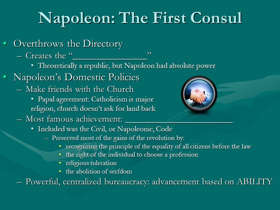 Napoleon: The First Consul