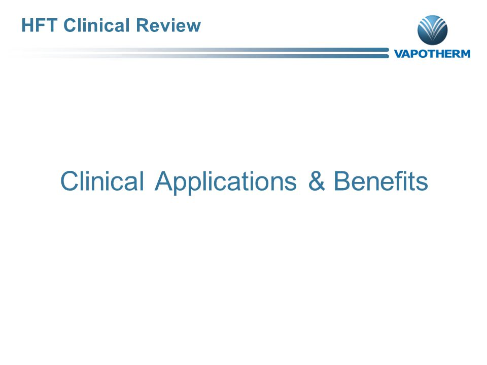 Clinical Applications & Benefits