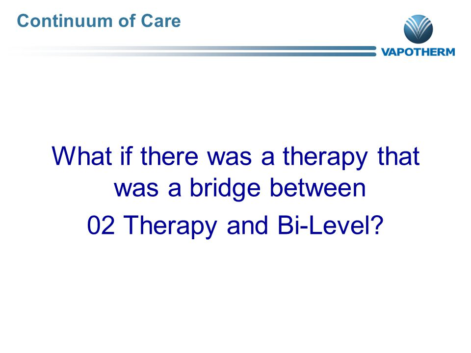What if there was a therapy that was a bridge between