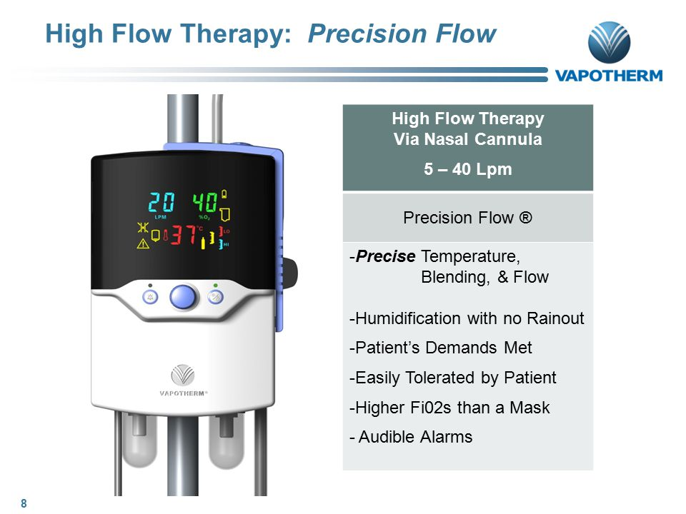 High Flow Therapy: Precision Flow