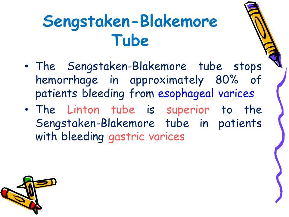 Sengstaken-Blakemore Tube