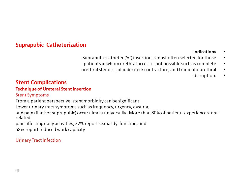Suprapubic Catheterization