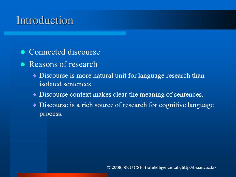 Comprehension of Discourse