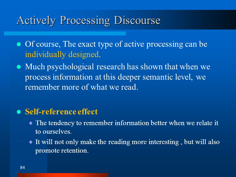 Connecting Propositions in Discourse