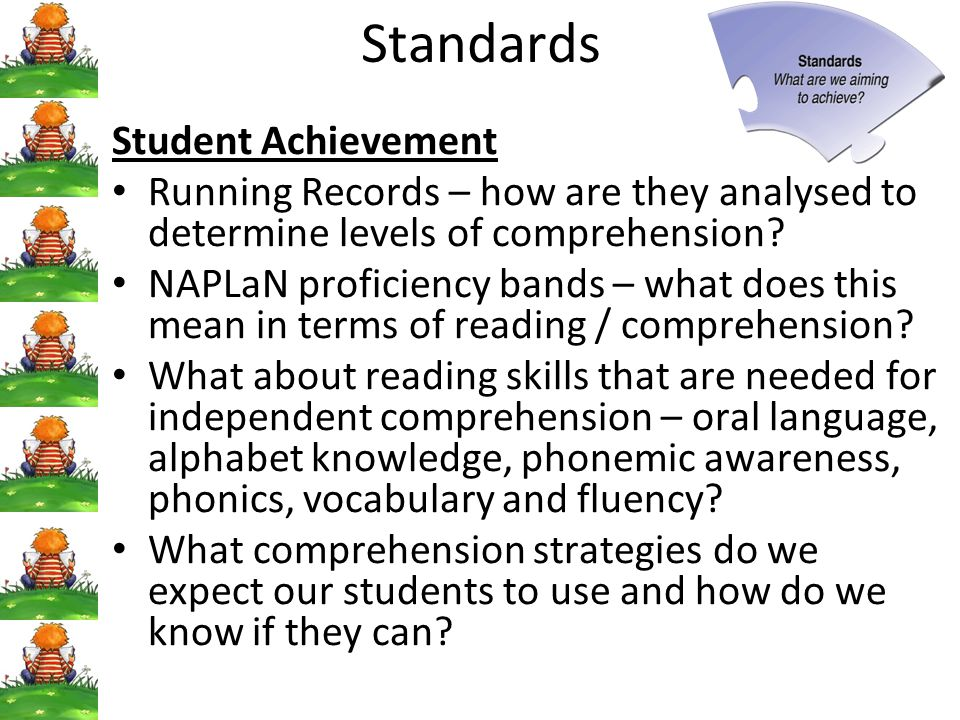 Standards Student Achievement